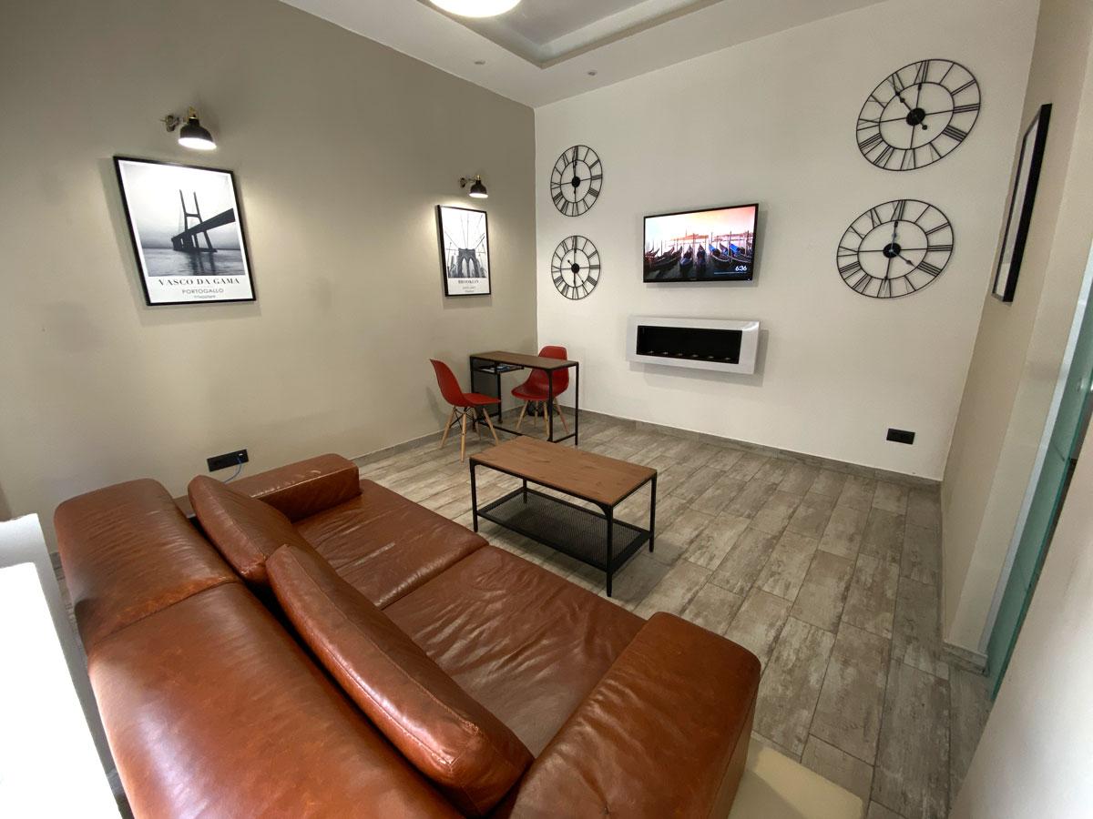 sala living agenzia viaggi casoria